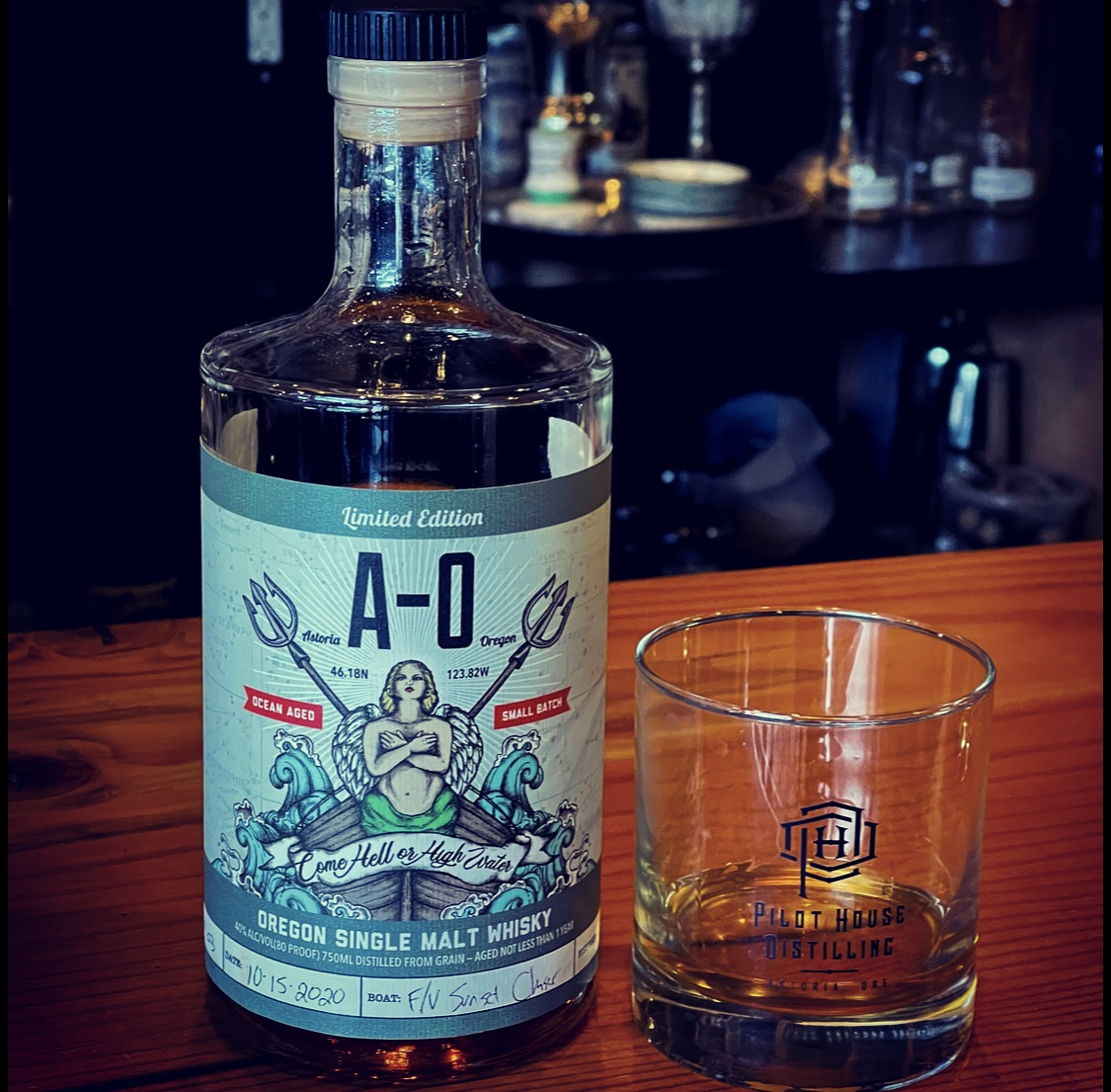 Larry Cary Pilot House Distilling – Culinary Treasure Podcast Episode 84 by Steven Shomler